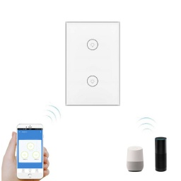 INTERRUPTOR WIFI DE LUCES 2 BOTONES  SMART