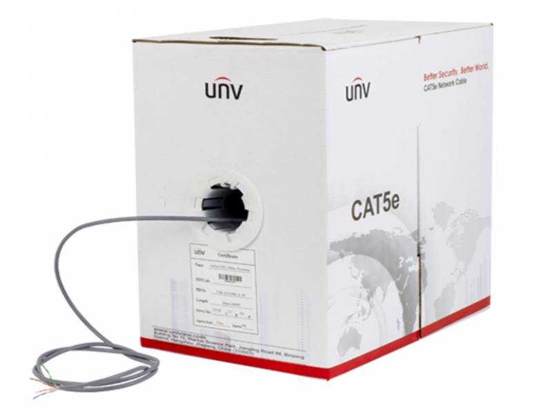 BOBINA CABLE UTP CATEGORIA 5E UNV IDEAL CCTV